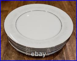 Set of 12 Noritake China CUMBERLAND - Dinner Plates Plate Set