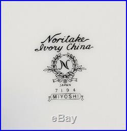 Set of 20 NORITAKE Ivory China MIYOSHI 4 ea. 5 Piece Place Settings