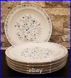 Set of 6 Noritake China SERENE GARDEN - Dinner Plates Set EXC COND