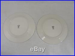 Set of 6 Noritake Dinner Plates 10.5 Ivory China Fragrance 7025 Vintage Floral