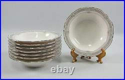 Set of 8 Noritake China ROTHSCHILD Fruit/Dessert Bowls