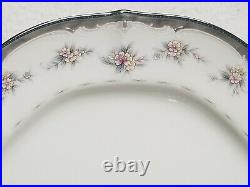 Set of 8 Noritake Ivory China TRAVIATA 10 1/2 Dinner Plates #7327