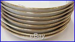 Set of Eight 8 Antique Noritake China 175 16034 7 1/2 Coupe Soup Bowls