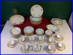 Set of NORITAKE M DINNERWARE 73 Pcs. OCCUPIED JAPAN Floral CHINA Pottery VGC
