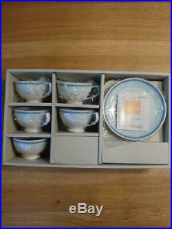 Snoopy Peanuts NORITAKE China Coffee Cup Saucer 5 Set Boxed NEW F/S Rare
