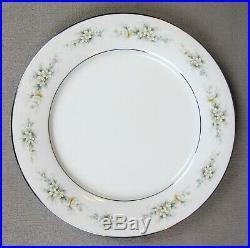 Superb vintage Noritake MELISSA fine china Dinner Service Set for 8. Plates etc