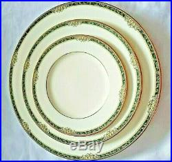 Twenty Four (24) NORITAKE COVINA Bone China pat 9791 3 Piece PLACE SETTINGS