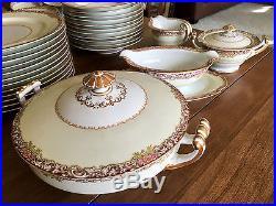 Vintage Antique Noritake M China Set Service Dinnerware 81 Pcs Rare