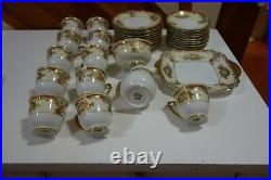 VINTAGE MEITO CHINA HAND PAINTED COFFEE SET Foreign