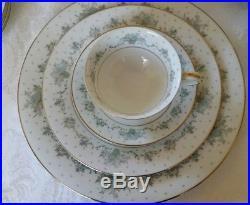 VINTAGE NORITAKE CHINA 6304 ALLSTON 63 pcs. PARTIAL DINNER SET FOR 11