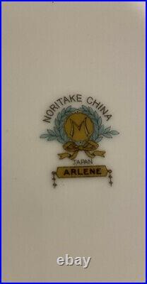 VINTAGE Noritake 85-Piece Fine China Dinnerware Set NORITAKE ARLENE #65248