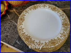 VTG Noritake China 175 Christmas Ball Dinner Plates Set of Seven 10