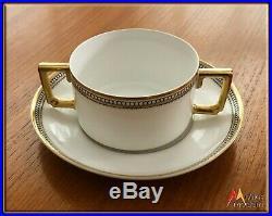 Vintage 1900 Estate China Set 117 Pc. Serve White 10 Heinrich H & Co. Imperial
