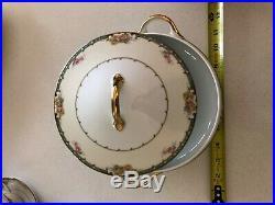 Vintage 1918 Noritake Estelle Fine China 83367 -Set for 8 -Mint Condition
