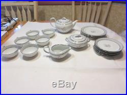Vintage 1950s NORITAKE China Lily of the Valley Complete 21-Pc Tea Set # 5518