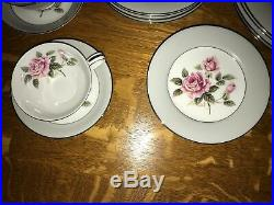 Vintage 1950s Noritake China Arlington 5221 24 Piece Set, Excellent Condi