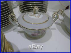 Vintage 1950s Noritake Japan Margarita China Dinnerware Set For 12 92 Pieces