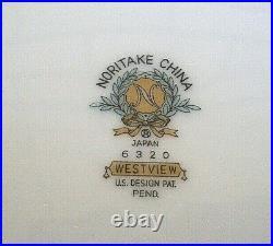 Vintage 1961+ NORITAKE Japan 6320 WESTVIEW 35pc Porcelain Dinner Set Australia