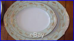 Vintage Fine China Dinnerware Set by Noritake Alice Service 12 Hostess Pcs 92pc