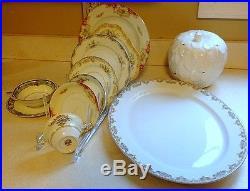 Vintage Mixed Noritake China Set Service for 4