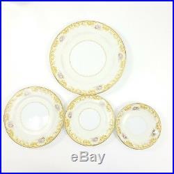 Vintage NORITAKE Fine China Aurora Sonora 65 Pc Dining Set Cups Plates Bowls