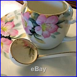 Vintage Noritake Azalea China Set of 41 piece Hand Painted set for 8 REDUCED
