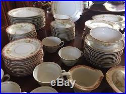Vintage Noritake Celebrate China 102 pieces service for 12