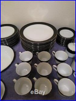 Vintage Noritake China 84pc Dinnerware Set (Mirano 6878)