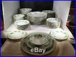Vintage Noritake China Adrienne No. 5143 Dinner Set for 12 Japan