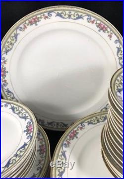 Vintage Noritake China CHANLAKE Dinnerware Set for 8