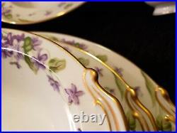 Vintage Noritake China Nancy Violet Set 5163 50+ pieces