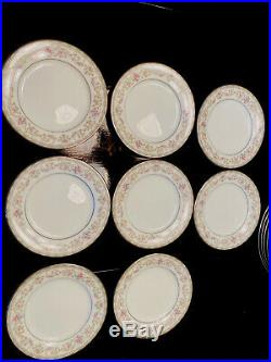 Vintage Noritake Edgewood China Set 5807 Several Pieces 51 Piece Total
