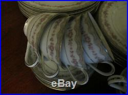 Vintage Noritake GLENWOOD 5770 fine+dainty design, 6 place DINNER SET+EXTRAS @NR