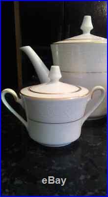 Vintage Noritake Ivory China Tulane Coffee Set