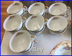 Vintage Noritake M China 12 Place Setting Plus Accessories 92 Pieces Japan