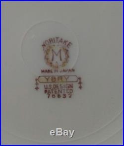 Vintage Noritake M Stamp 44 Pcs China Misc Set Dinner Soup Roll Salad