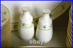 Vintage Noritake Normandy China 93 Piece Set, Service For 12 + Serving Pieces