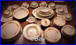 Vintage Noritake Occupied Japan Porcelain China Set (62)