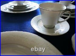 Vintage Noritake TAHOE China 2585 (4) 5 Piece Place Settings Mint