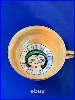Vintage Noritake china Lustreware Betty Boop snack set