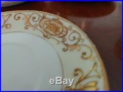 Vintage Noritake china tea set 6 cups & saucers, teapot, creamer, sugar bowl
