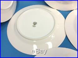 Vintage Set 8 Used Noritake China 5543 Mavis 178059 10.5 Dinner Plates