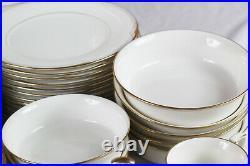 Vintage Set of 80 Noritake Fine China Golden Cove Dinnerware Japan