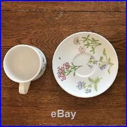 Vtg 1975 Noritake Progression China Petals Plus Collection 9071 20 Pc Dish Set