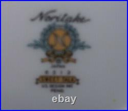 Vtg Noritake China 6 Piece Place Settings, Service For 8 People. Sweet Talk 6513