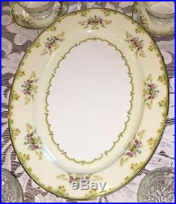 Winton, by Noritake China Yellow Scroll Old Pattern 10 Settings & Serving Pieces